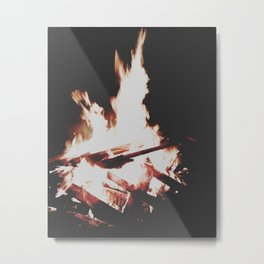 Firelight Metal Print