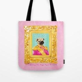 Pug the Magnifique Tote Bag