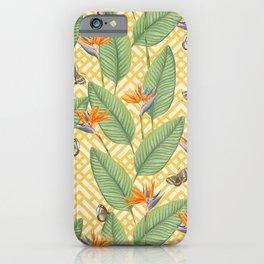 Intricate Tropicalia iPhone Case
