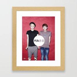 Key and Onew  Framed Art Print