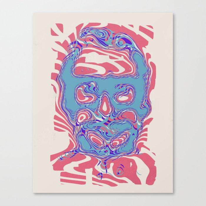 romeros masque Canvas Print