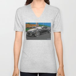 B is for builds  plan A painting Unisex V-Neck