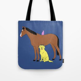 Animals from Hollywoo Tote Bag