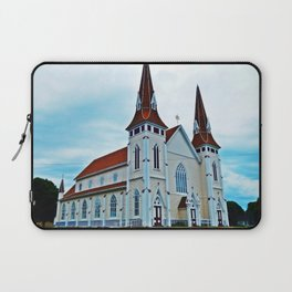 Big Old Wooden Church Laptop Sleeve