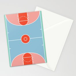 Courts / Basketaball Stationery Cards