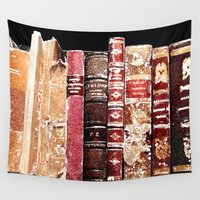 books Wall Tapestries featuring Books by Regan's World