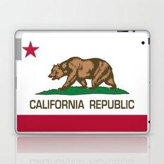 California Republic Flag, High Quality Image Laptop & iPad Skin