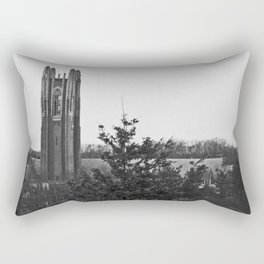 Galen Stone Tower, Wellesley College Rectangular Pillow