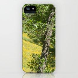 Mellow romantic landscape spring iPhone Case