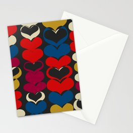 HAPPY HEARTS N5 Stationery Cards