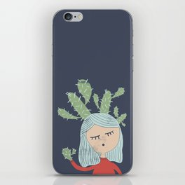 Invisible oppression iPhone Skin