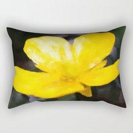 The Buttercup Rectangular Pillow