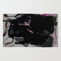 tangled Area & Throw Rugs featuring Tangled by Georgiana Paraschiv