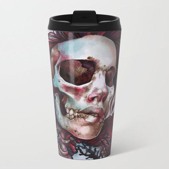 Queen of Ravens Metal Travel Mug