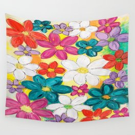 Valley of Flowers Wall Tapestry