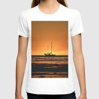 sailboat T-shirts featuring Sailboat  by GG's photography.