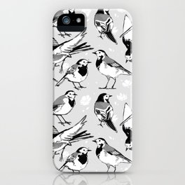 Wagtails iPhone Case