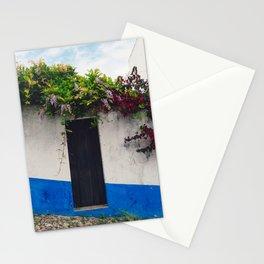 Doorways in Óbidos, Portugal Stationery Cards