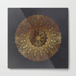 -A27- Original Heritage Moroccan Islamic Geometric Artwork. Metal Print