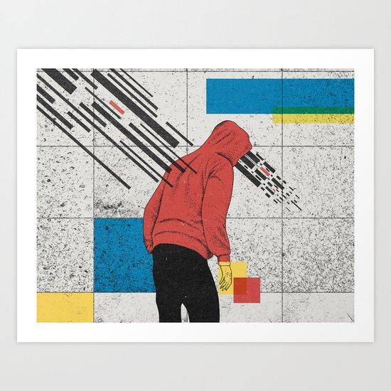 Discharge Art Print