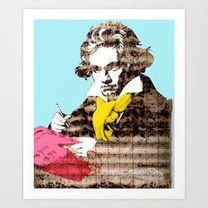 Ludwig van Beethoven 4 Art Print