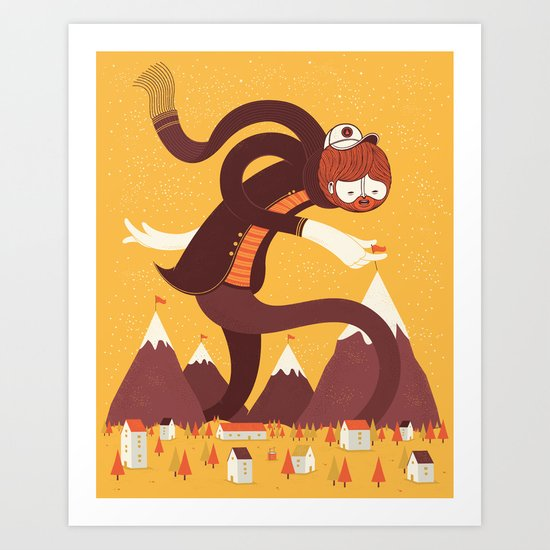 Best Alpinist Ever Art Print