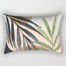 Abstract Tropical Art VI Rectangular Pillow