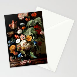 """Rachel Ruysch """"Still-Life with Flowers"""" Stationery Cards"""