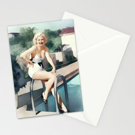 Jean Harlow, Actress Stationery Cards