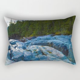 On route to Ucluelet on Vancouver Island, BC Rectangular Pillow