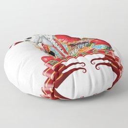 Calavera Hombre Floor Pillow