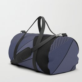 An abstract geometric pattern . Night Duffle Bag