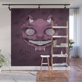 Cheshire Cat Wall Mural