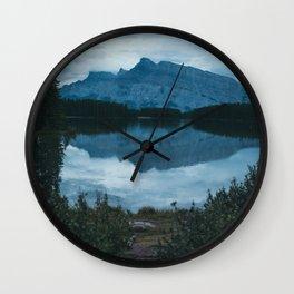 Two Jack Lake Wall Clock