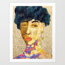 Face It 1 Art Print