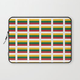 Flag of Lithuania – Lietuva,Lithuanian,Lietuvos,vilnius,kaunas,baltic,viking. Laptop Sleeve