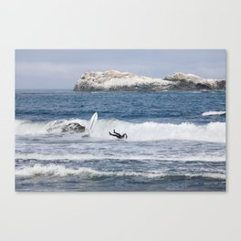 The Wipeout Canvas Print