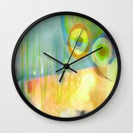 Dappled Grasses Wall Clock