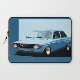 Old Classic Volvo Ilustration Laptop Sleeve
