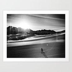 Fresh Tracks II Art Print