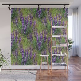 Lupines Galore.... Wall Mural