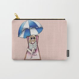 Margaux at the beach Carry-All Pouch