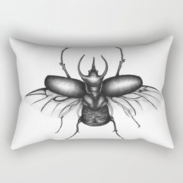 Beetle Wings Rectangular Pillow
