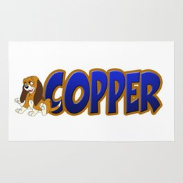 C is for Copper  Rug