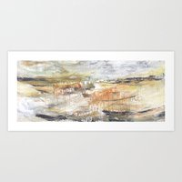 Stormy Times Past, Moving Forward Art Print