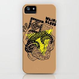 weirdblood iPhone Case