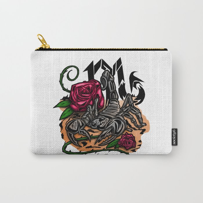 Scorpio - Zodiac Carry-All Pouch