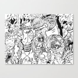 Fairy Tales: Stroll Through the Woods Canvas Print