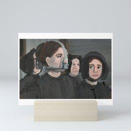 the scold bridle Mini Art Print