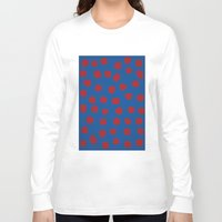 dots Long Sleeve T-shirts featuring dots by MARI EBINE